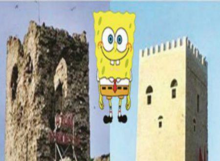 Polemiche e ironie per Castello restaurato somigliante a Spongebob: dove è accaduto