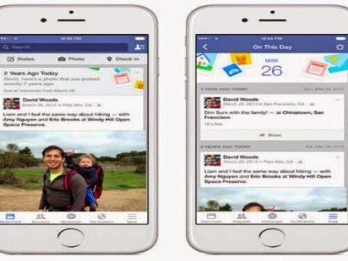 Facebook lancia la funzione Accadde oggi: per vedere i contenuti pubblicati in passato nella stessa data