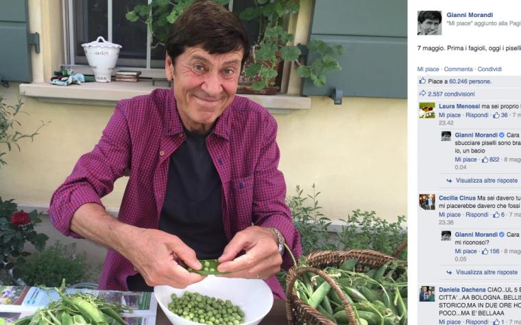 Se i Social rovinano anche una persona come Gianni Morandi