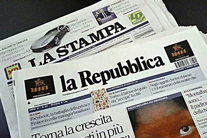 Lupi per Agnelli: Repubblica inghiotte La Stampa e IlSecoloXIX