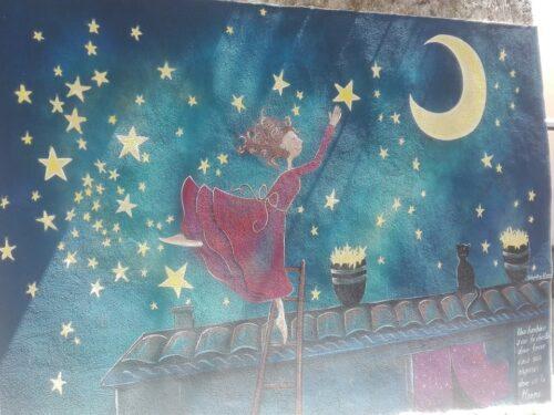 Valogno, il borgo rinato grazie ai murales