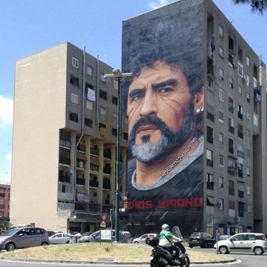 Jorit Agoch e i suoi murales che cominciano a stufare