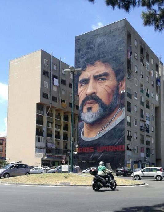 Maradona murale jorit