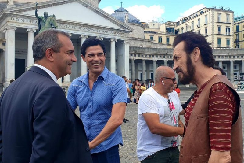 Napoli, la Hollywood italiana: girati oltre 900 film e fiction dal 2015