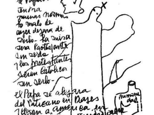Chi è Benjamin Parravicini, il pittore-scultore che predisse il futuro nei suoi disegni