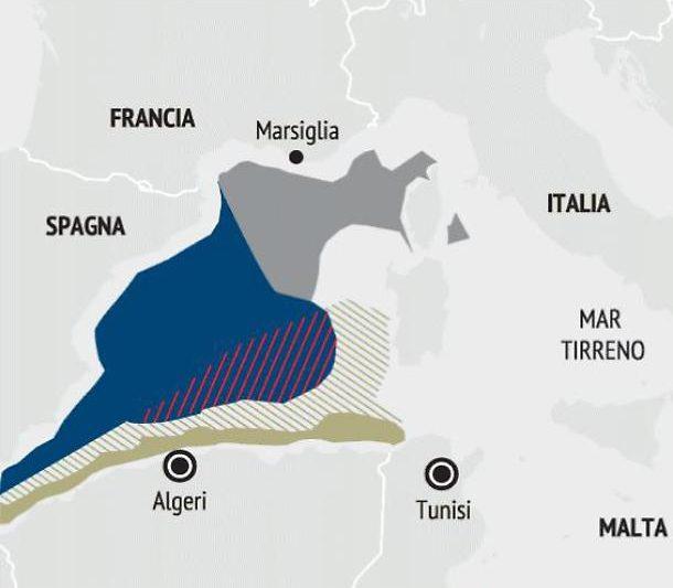 Mediterraneo, dopo Turchia anche Algeria ci sottrae spazi di mare: ecco il danno subito