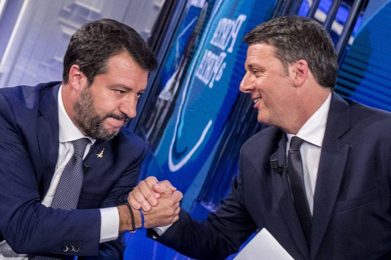 Salvini coi Baffi: lo scambio di favori tra i due Matteo