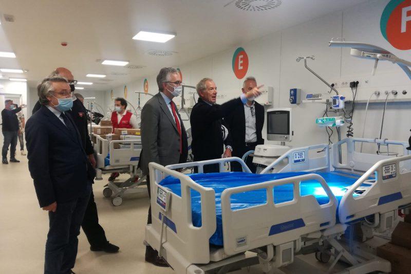 Coronavirus, chiude ospedale costato 12 milioni con un solo paziente