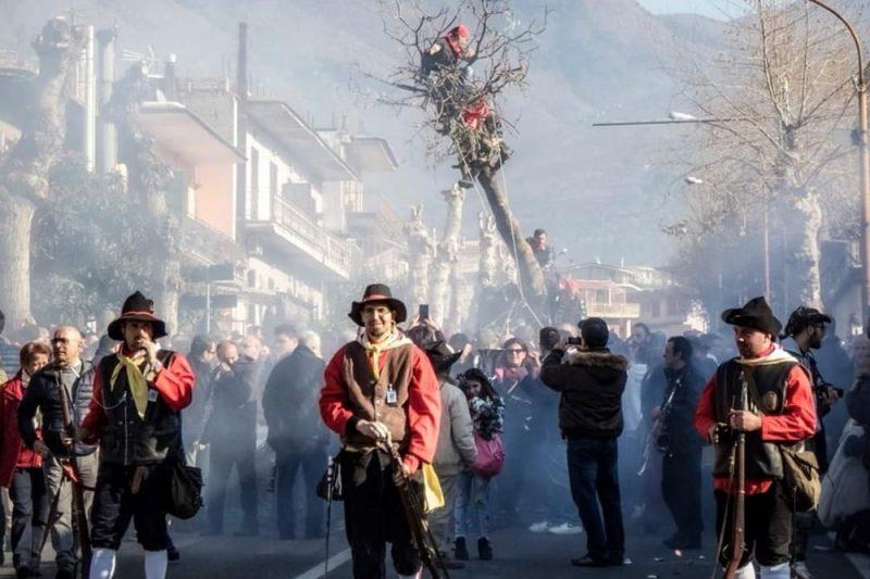 Baiano, dove si tiene la Festa del Maio