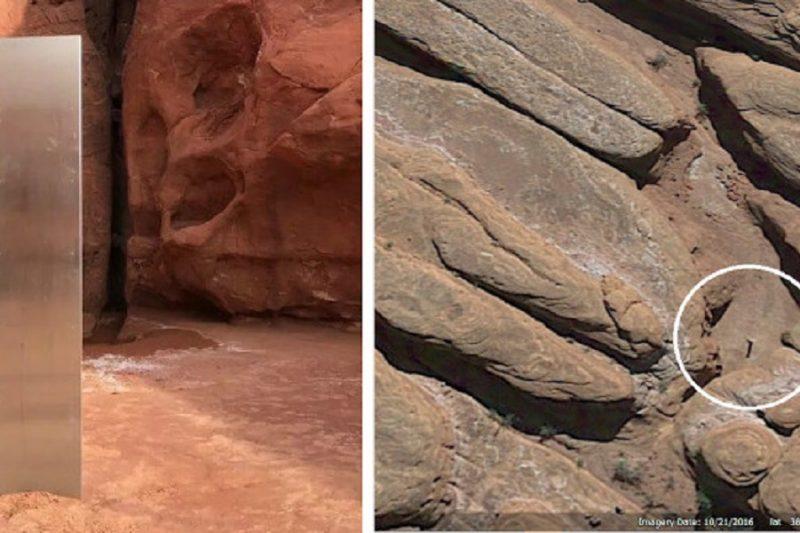 Monolite di metallo trovato nello Utah: le possibili spiegazioni