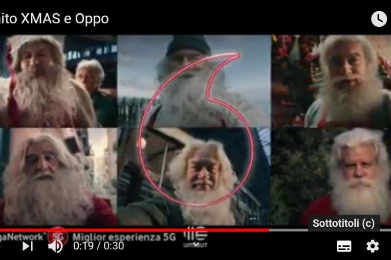 Pubblicità Vodafone con Babbo Natale offende meridionali: il motivo