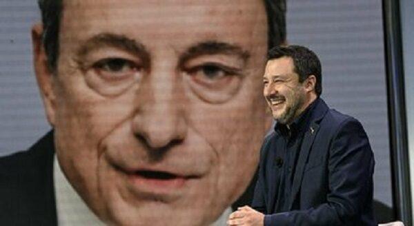 Salvini, da No-Euro a dragoniano: ennesima giravolta di un opportunista