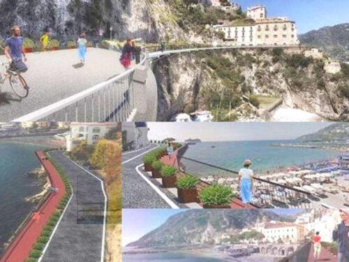 Sulla Costiera amalfitana nascerà passerella pedonale mozzafiato